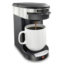Hamilton Beach HDC200S Deluxe Black / S/S 120V 1 Cup Coffee Maker