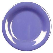 "Thunder Group CR006BU Purple 6.5"" Round Wide Rim Plate - 96 / CS"