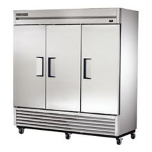 True Food Service TS-72F-HC 115V Stainless Steel Reach-In Freezer
