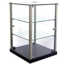 Equipex TP353 2-Shelf Ambient Countertop Display Case