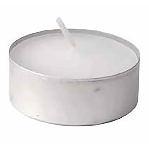 Darling Food Service Metal 5-Hr. Tea Light Candle - 500 / CS