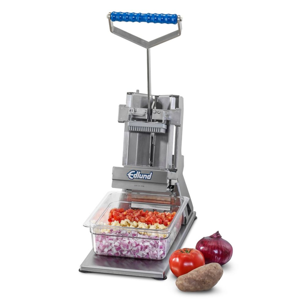 "Edlund FDW-012 Titan Series Tabletop 1/2"" Cut Dicer"