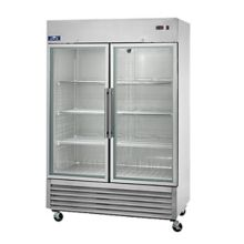 Arctic Air AGR49 2-Door Glass Reach-In Refrigerator