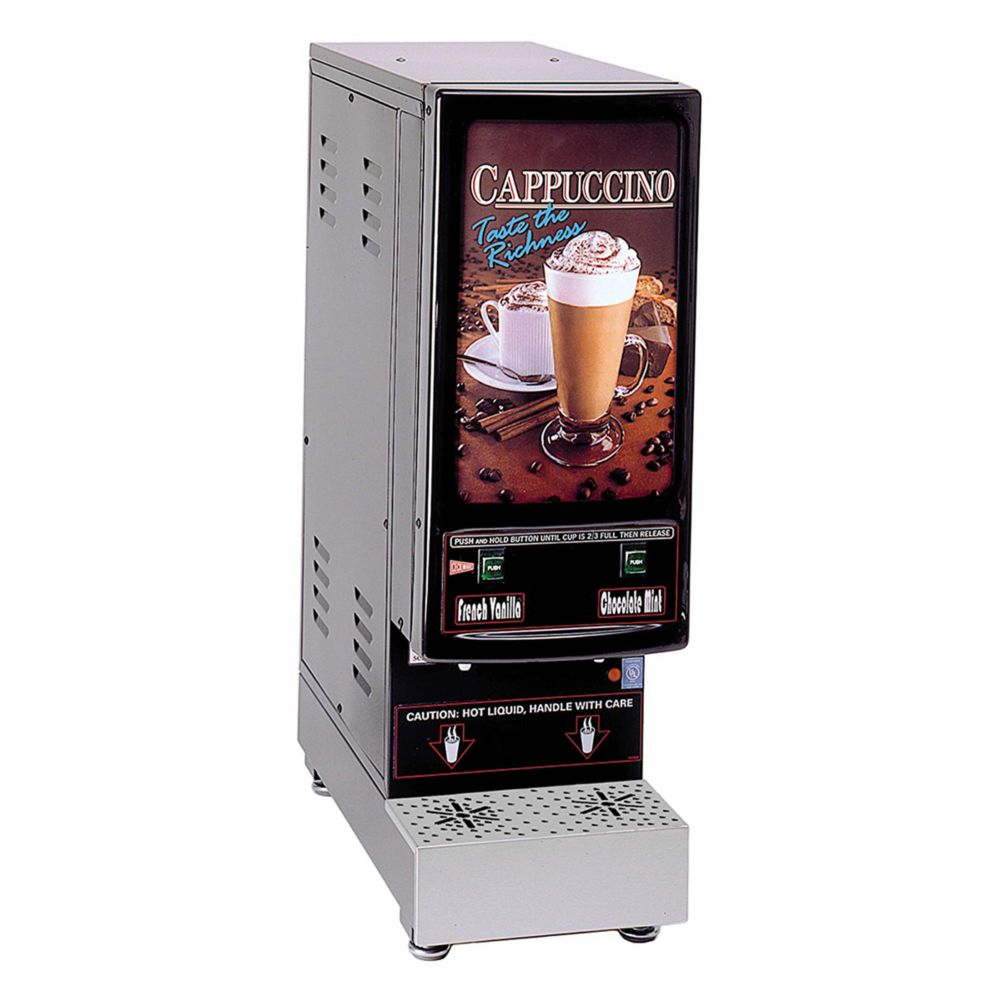 Cecilware 2K-GB-LD Cappuccino Dispenser with 2 Hoppers