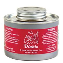 Dine-Aglow DH600 Diablo 6 Hour Double Wide Wick Chafing Fuel - 24 / CS