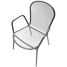 Plantation Prestige 2041100-0470 Rockport Platinum Dining Arm Chair