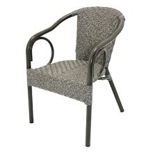 Plantation Prestige 8251100-0440 Aruba Driftwood Stacking Dining Chair