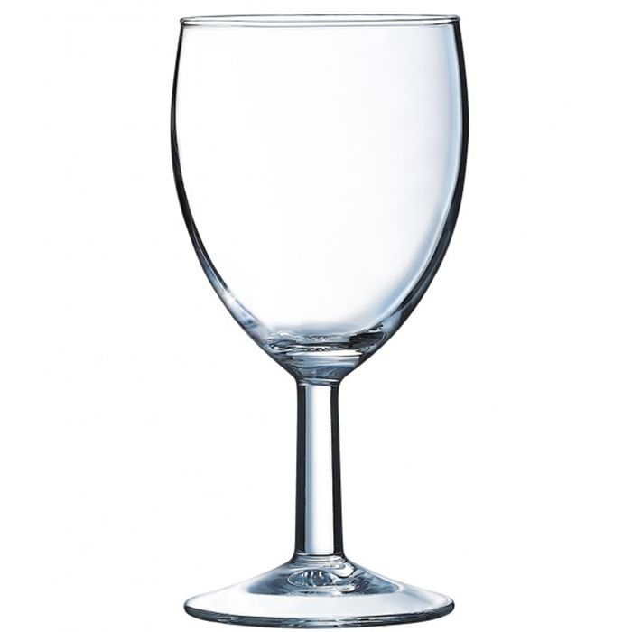 Arcoroc 06942 Ballon Super Savoie 12 Ounce Wine Glass - 24 / CS