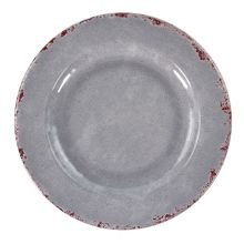 """Europaeus TGY1633 Gray Casablanca 11"""" Plate - 12 / CS"""