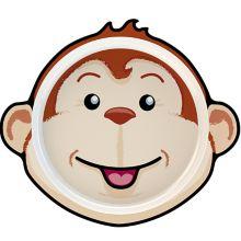 """Europaeus KT7066MY 10.25"""" x 9"""" Monkey Plate - 10 / CS"""