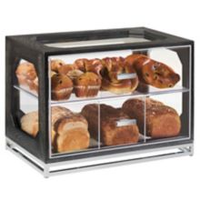"Cal-Mil 3820-87 Cinderwood 13.5 x 20 x 15"" Bread Display"