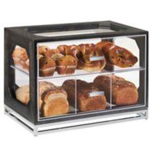 "Cal-Mil 3820-87 Cinderwood 13.5 x 20 x 15"" Bread Display"