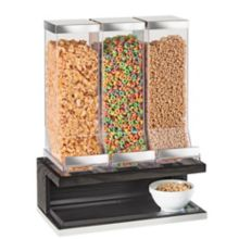 Cal-Mil 3823-87 Cinderwood 3-Bin Cereal Dispenser