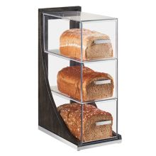 Cal-Mil 3815-87 Cinderwood 3-Drawer Bread Case