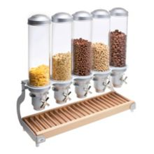 Cal-Mil 3515-5-98 Beachwood 5-Cylinder Cereal Dispenser