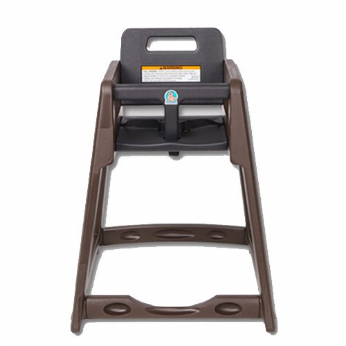 Koala Kare KB950-09 Brown Plastic High Chair
