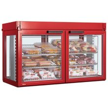 Hatco LFST-48-1X Flav-R-Savor® Red Non-Humidified Display Cabinet