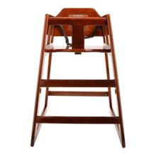 G.E.T. HC-100-MOD-W-2 New Version Walnut Hard Wood High Chair