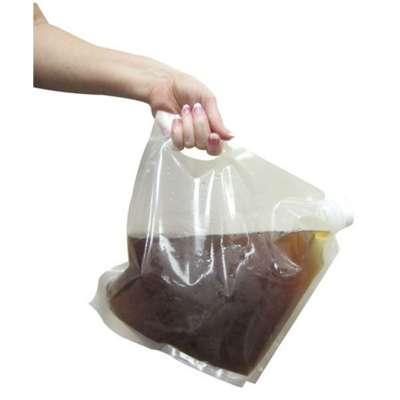 Pak-Sher 9003 Cateraid Clear 1 Gallon Beverage Bag
