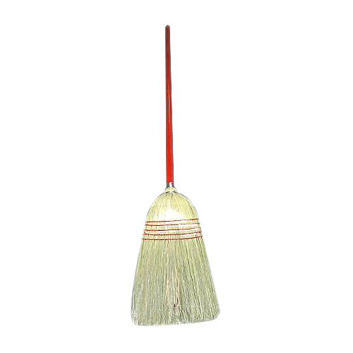 "O-Cedar 597-6 42"" Broom with Red Handle - 6 / CS"