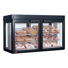 Hatco LFST-48-2X Flav-R-Savor Black Non-Humidified Display Cabinet