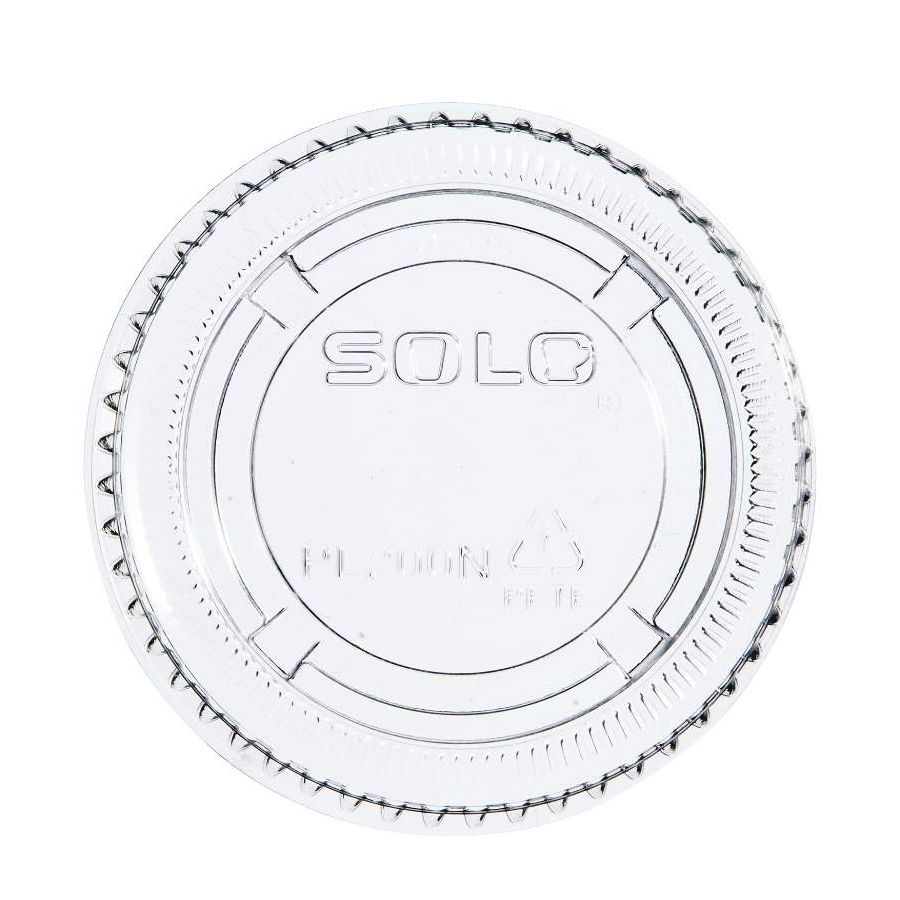 Solo® PL200N PET Plastic Lid for TH200 Cup - 2500 / CS
