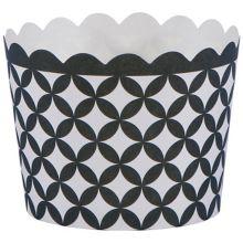 "Hoffmaster 600110 Black Diamond 1.5 x 2"" Baking Cup - 550 / CS"