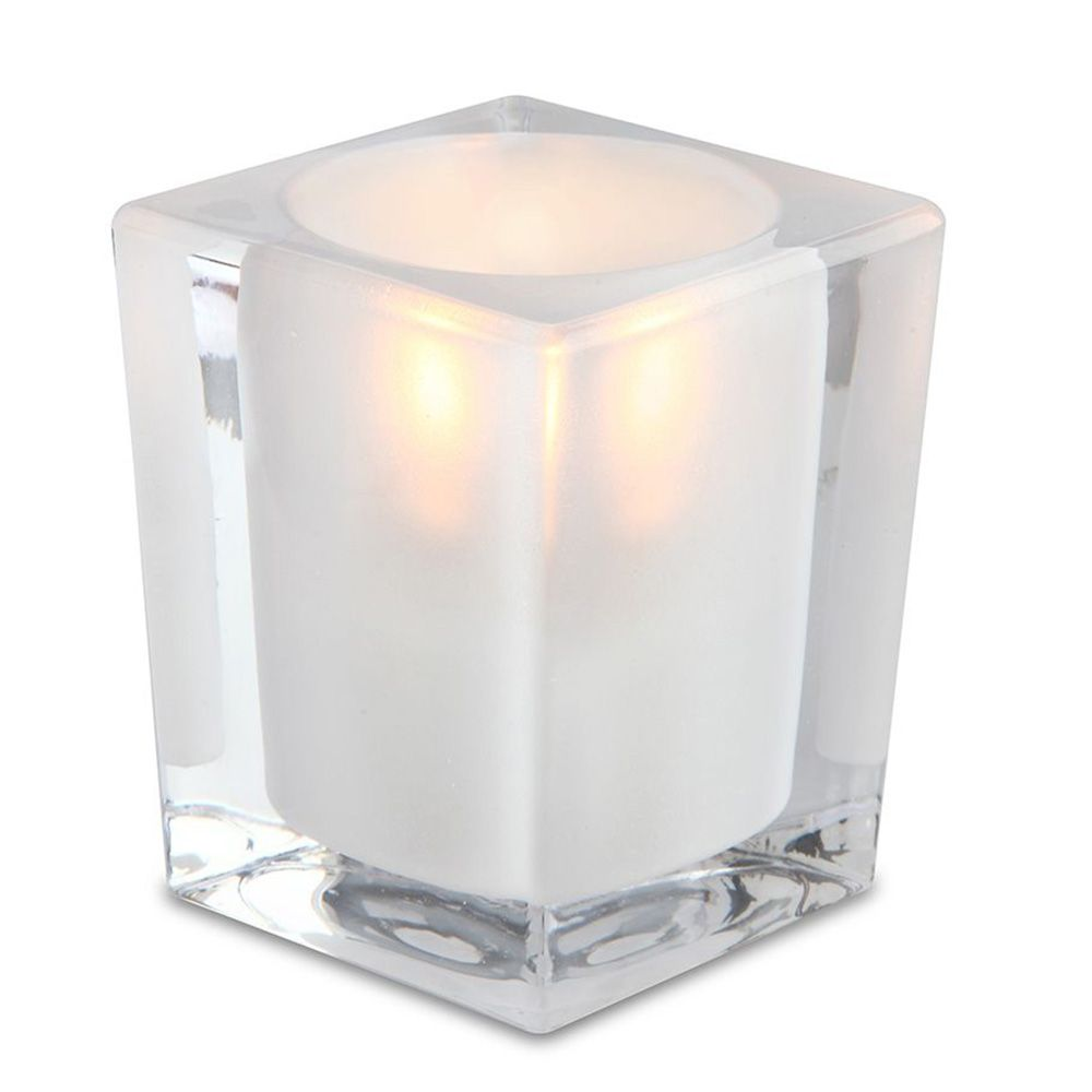 Sterno Products® 80238 Signature Frost Glass Lamp