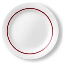 "Corelle 1137752 Horizon Red 6.25"" Bread Plate - 36 / CS"