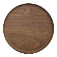 "ECO Bamboo Ware 22163-L Bamboo Ware 11"" Round Plate - 24 / CS"