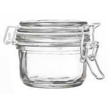 Qosmedix 29982 125ml Hermetic Glass Storage Jar - 36 / CS