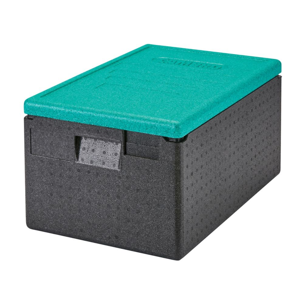Cambro EPP180CLSW360 48.6 Quart Gobox Catering Box with Green Lid