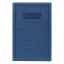 This blue lid fits the Cambro EPP180 Gobo.