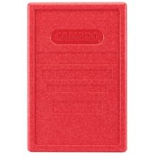 This red lid fits the Cambro EPP180 Gobo.
