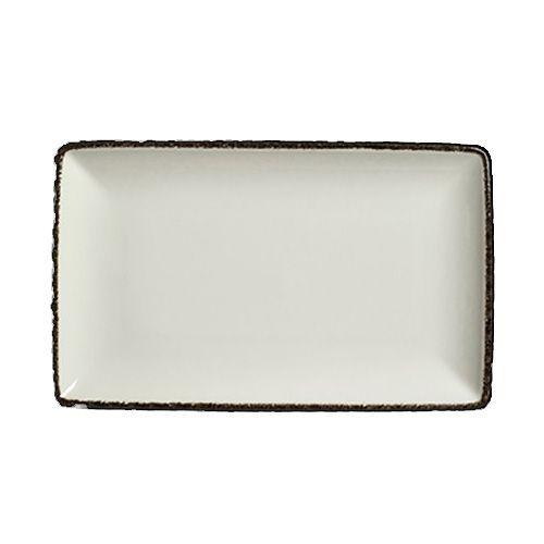 Steelite 17560618 Charcoal Dapple 8 X 4 Rectangle Platter 12 Cs Wasserstrom