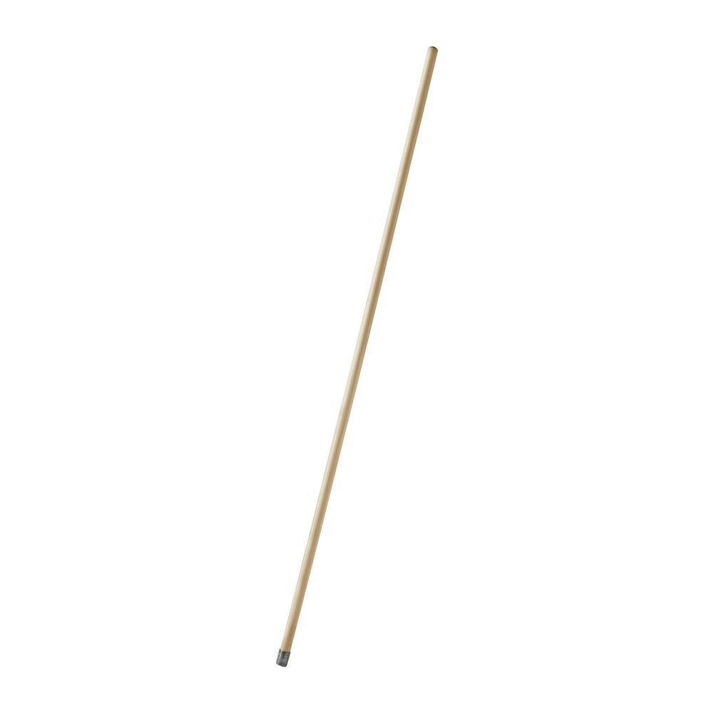 Rubbermaid FGH316000000 Wooden 60 In. Bolt-On Mop Handle w/ Metal Cap