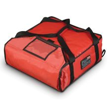 Rubbermaid FG9F3500RED PROSERVE® Small Red Pizza Delivery Bag