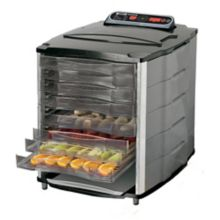 Hamilton Beach 28-1001-W Digital 110V 10-Tray Food Dehydrator