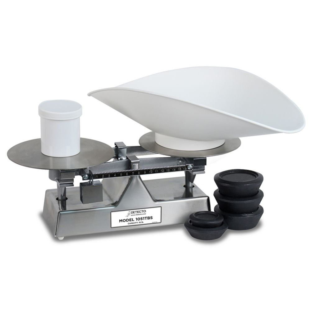 Detecto Scale 1051TBS 16 Lb Baker's Dough Scale