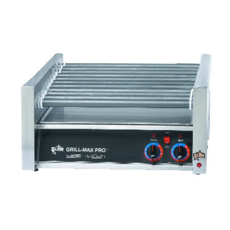 Star® 75SC Grill-Max® Non-Stick Analog 75-Dog Roller Grill