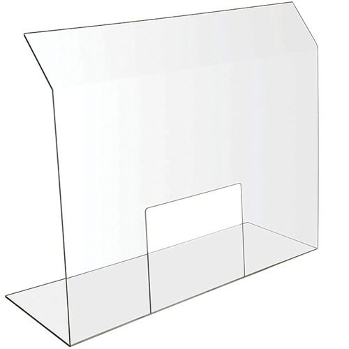 Bon Chef 90166 POS Window Standalone Health Safety Shield