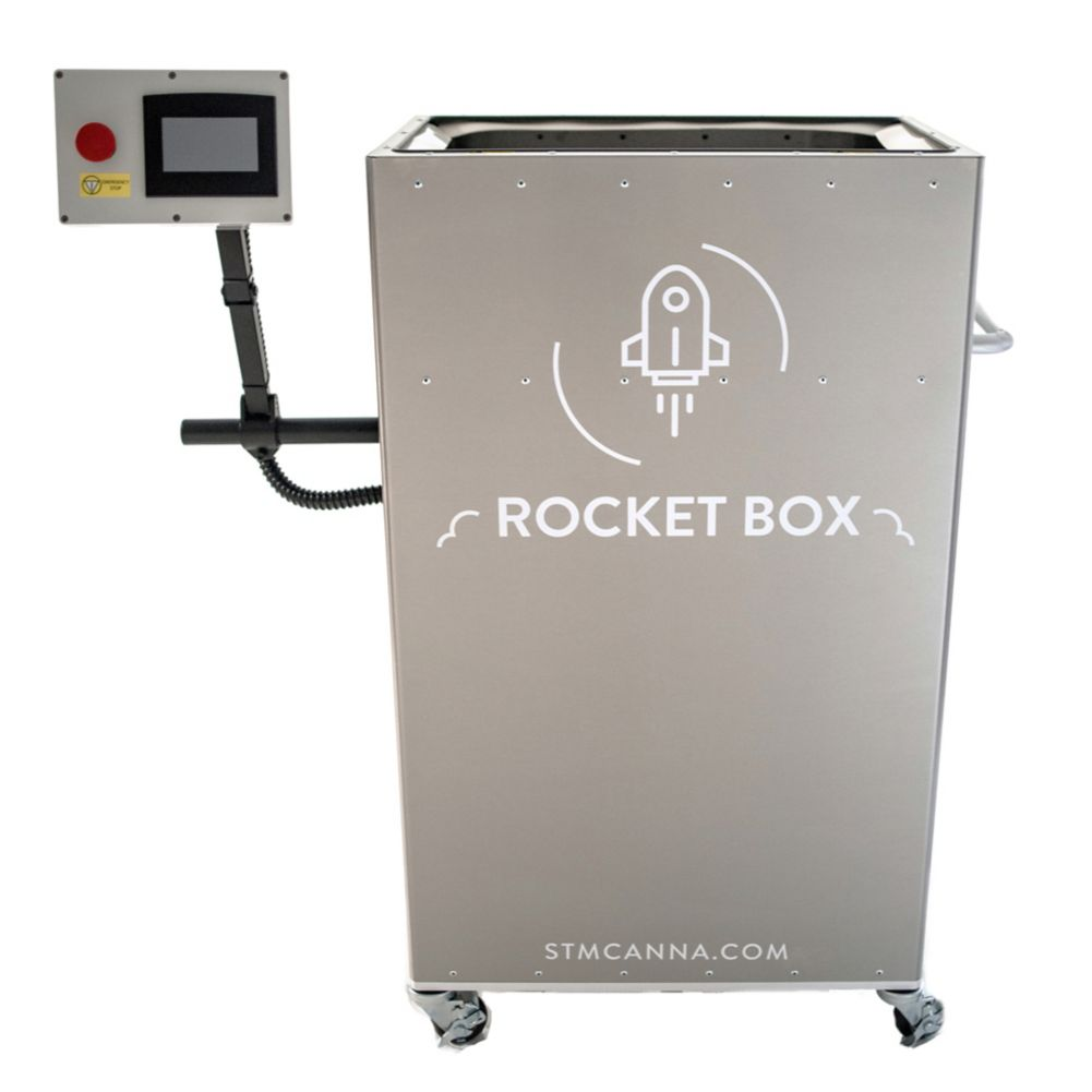 STM Canna STM-RB-84 Rocketbox Pre-Roll Machine w/84 mm Tray