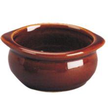 Diversified DC12C-LB Laredo Brown 12 Oz. Onion Soup Bowl - 24 / CS