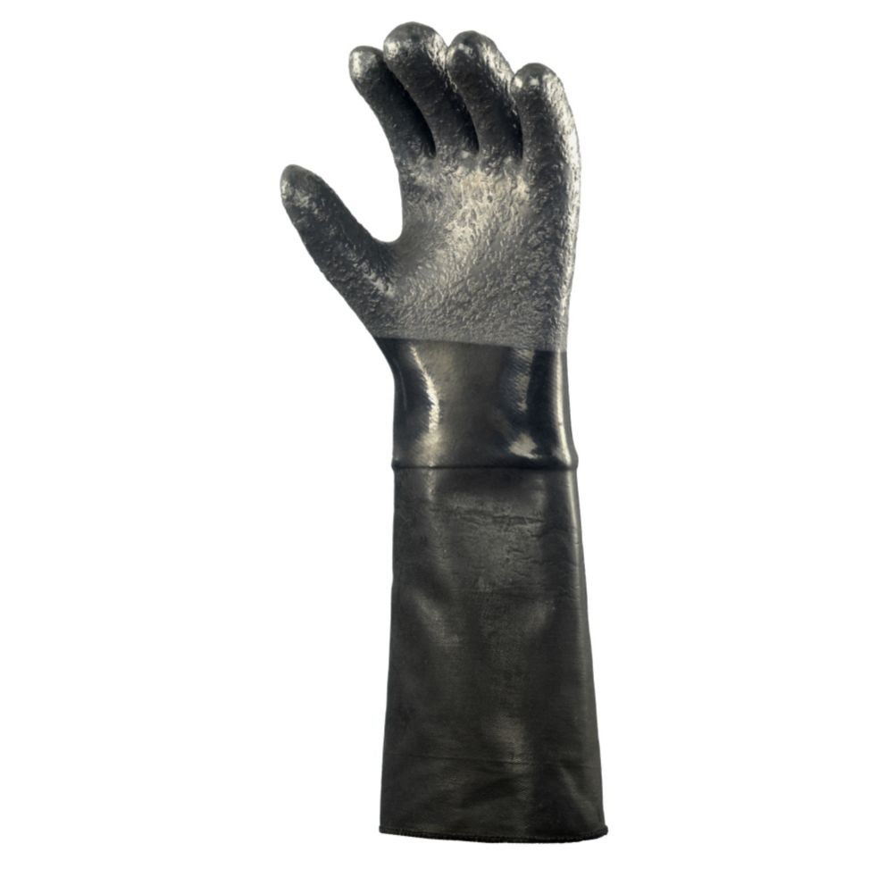 "Ansell 19-024/214021 Heat Resistant 18"" Neoprene Gloves - Pair"