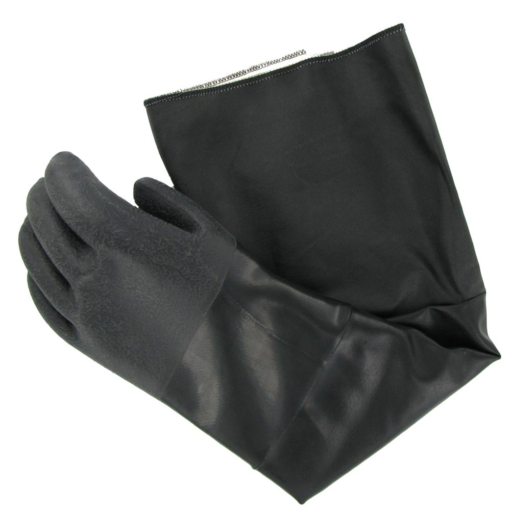 "Ansell 19-026/214023 Heat Resistant 26"" Neoprene Gloves - Pair"
