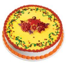 DecoPac® 41020 Pop Tops Pumpkin with Flowers Decoration - 24 / BX