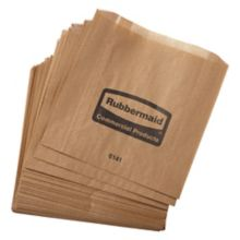 Rubbermaid® FG6141000000 Waxed Bags for 6140 Receptacle - 250 / CS