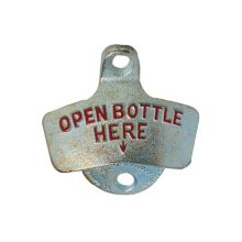 Spill-Stop 13-300 Old Fashioned Wall Mount Bottle Opener