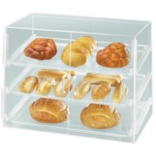 "Cal-Mil P254SS Countertop Slant Front 26.5 x 22.5"" Display Case"