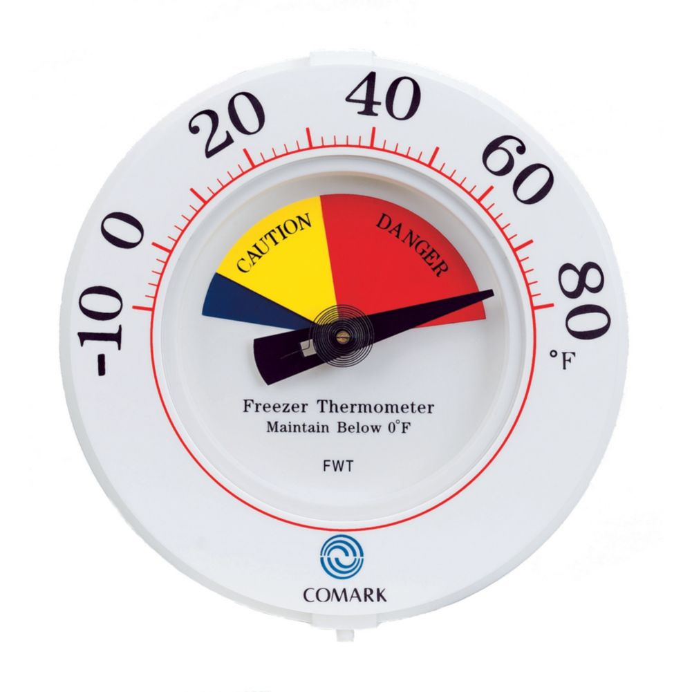 Comark FWT Freezer Wall Thermometer